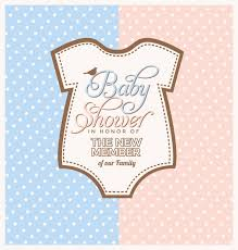 baby shower baby shower invitation design vector free