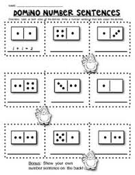 sample page valentine domino math worksheets composing and