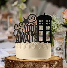 doctor who wedding cake topper this doctor who themed cake topper is your adventure