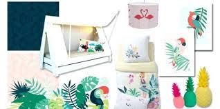 thème décoration chambre bébé chambre enfant tropical un thame exotique ma chambramoi dacco