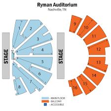ryman seating map adele june 20 tickets nashville ryman auditorium adele tickets