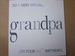 personalised handmade birthday card grandpa 60th 65th 70th