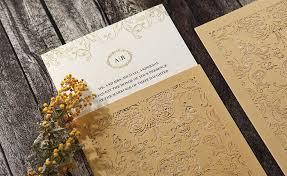 Wedding Invitations With Pockets Personalised Invitations Laser Cut Foiled Letterpress U0026 Pocket