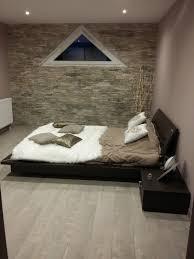 chambre wengé amenagement décoration chambre design contemporain nature cocon