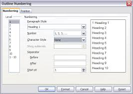 numbering pages apache openoffice wiki