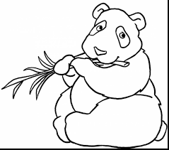 unbelievable panda bear coloring pages with panda coloring page