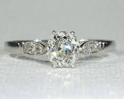 antique platinum diamond ring settings wedding promise diamond