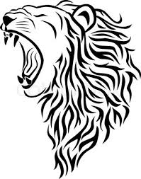 14 lion tribal tattoo designs