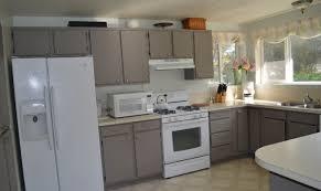 Painted Laminate Kitchen Cabinets Kitchen Ideas Collection Chalk Paint On Laminate Kitchen