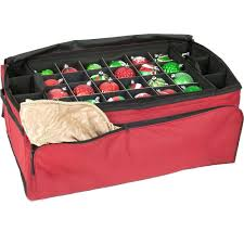 santa s bags 3 tray ornament storage bag