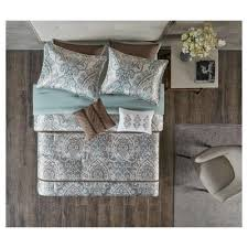 Gray And Turquoise Bedding Comforter Set Bedding Sets U0026 Collections Target