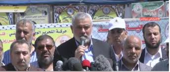 st hane bureau what did haniyeh say in his appearance after taking office as