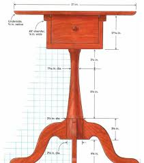 shaker sewing stand remains stylish practical finewoodworking