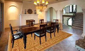 What Size Rug To Use For Your Dining Room - Rugs for dining room
