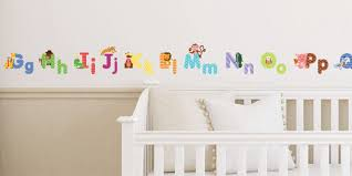 Alphabet Wall Decals For Nursery by Animal Alphabet Wall Decals Fun And Educational Letters For