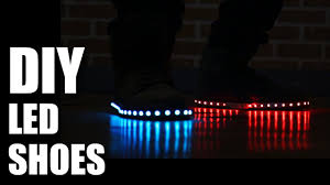 led new years how to make diy led shoes new years special mad stuff with rob