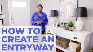 how to create the illusion of an entryway easy home decorating
