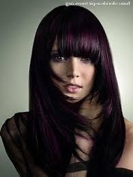 hair colour highlights ideas for black hair mila kunis hair color