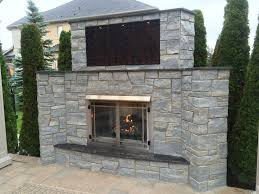 Outdoor Fireplace Chimney Height by Weatheredge Limestone Outdoor Living