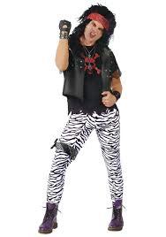 Halloween 80s Costume Rockstar Google Rockband Costumes