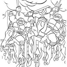 teenage mutant ninja turtles coloring pages printable you will