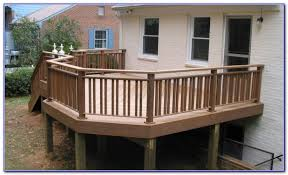 steel deck railing ideas decks home decorating ideas ve4k7mm49g