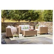 fullerton 4 piece wicker patio furniture set project 62 target