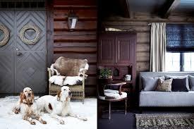 Ski Lodge Interior Design Décor Inspiration A Cosy Ski Lodge With A Warm Fire