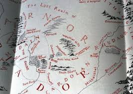 Book Map Maps U2013 Sweating To Mordor
