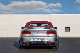 mercedes amg convertible 2017 mercedes amg s63 cabriolet edition 130 bows in detroit