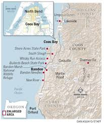 Oregon Beaches Map by Top 10 Wild Attractions In Coos County Wild About Oregon Coast