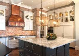 vent kitchen island vent kitchen island custom kitchen with brick walls
