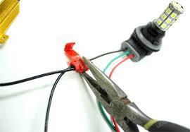 load resistors for led lights install led resistors solving led turn signal problem diy car led
