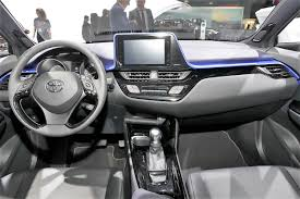 2018 toyota c hr will toyota c hr shows its interior in 18 live images