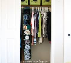 closet solutions how to organize sweaters ask anna