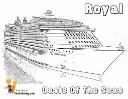 print cruise ship coloring page fresh on plans free desktop