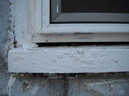 note gap above sill but under window what u0027s up with that