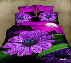 roupa de cama 4pcs floral print covers 3d bedding sets 100 cotton