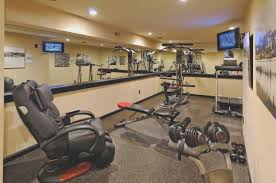 basement unfinished basement gym designs and colors modern