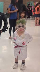 Joker Nurse Halloween Costume Diy Kid Halloween Nurse Joker Dark Knight Batman