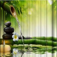 bambus badezimmer neue ankunft luxus 3d druck bambus bad wasserdichte starke plaid