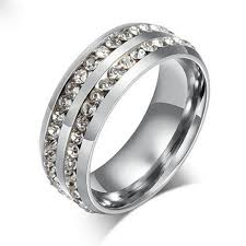 jewellery rings silver images 1 pc gold silver crystal rings female stainless steel wedding jpg