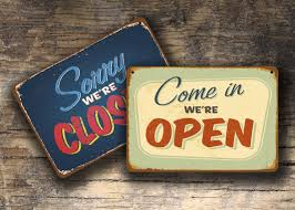 100 open closed sign template business signage open closed