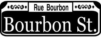 bourbon sign new orleans knitting in flashes
