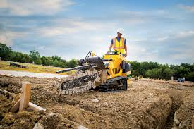 vermeer u0027s new footing trencher can dig up to 26 inches deep
