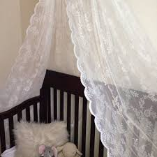 Lace Bed Canopy Best Crib Canopy Products On Wanelo
