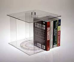 book displays countertop stands and floor spinners from clear