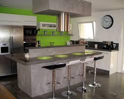 cuisine gris et vert cuisine verte et blanche fabulous chambre idee deco cuisine grise