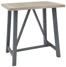 Industrial Bar Table Buy Liddle Industrial Bar Table Cfs Uk