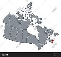Map Of Nova Scotia Map Of Canada Nova Scotia Highlighted Stock Photo U0026 Stock Images